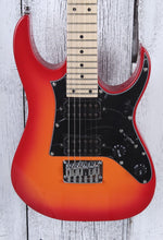 Load image into Gallery viewer, Ibanez GIO RG miKro GRGM21M Electric Guitar GRGM21M Orange Burst