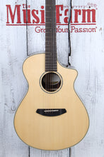 Load image into Gallery viewer, Breedlove Pursuit Exotic Concert CE Acoustic Electric Guitar Striped Ebony