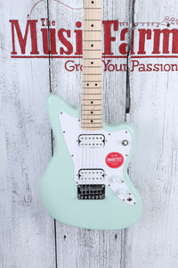 Fender® Squier Mini Jazzmaster HH Electric Guitar 22.75 Inch Scale Surf Green