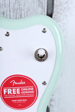 Load image into Gallery viewer, Fender® Squier Mini Jazzmaster HH Electric Guitar 22.75 Inch Scale Surf Green