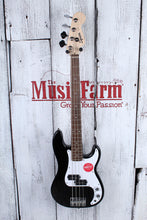 Load image into Gallery viewer, Fender® Squier Mini Precision Bass 4 String Electric P Bass Guitar Black