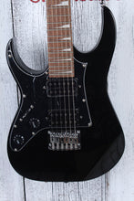 Load image into Gallery viewer, Ibanez GIO RG miKro GRGM21M Left Handed Electric Guitar Black Night