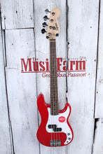 Load image into Gallery viewer, Fender® Squier Mini Precision Bass 4 String Electric P Bass Guitar Dakota Red