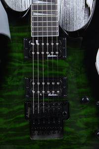 Jackson Dinky Arch Top JS32Q DKA Electric Guitar Quilt Maple Trans Green Burst