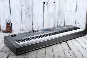 Yamaha MM8 Music Synthesizer 88 Key Graded Hammer Synthesizer Keyboard BLEM