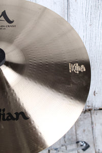 "Used Zildjian A Medium Thin Crash 16"" Cymbal"