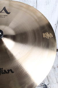 Zildjian A20079 A Custom Sweet Ride Cymbal 21 Inch Ride Drum Cymbal Brilliant