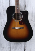 Load image into Gallery viewer, Epiphone DR-500MCE Dreadnought Acoustic Electric Guitar Vintage Sunburst Finish