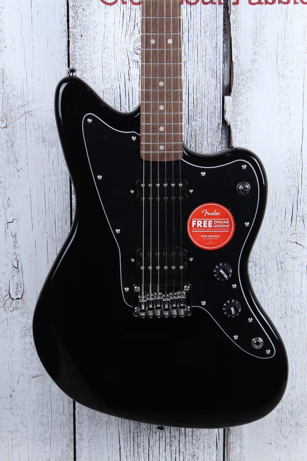 Fender® Squier Affinity Series Jazzmaster HH Electric Guitar Black Gloss Finish
