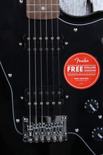 Load image into Gallery viewer, Fender® Squier Affinity Series Jazzmaster HH Electric Guitar Black Gloss Finish