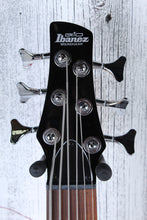 Load image into Gallery viewer, Ibanez GIO Soundgear GSR206 6 String Electric Bass Guitar Phat II EQ Black Gloss