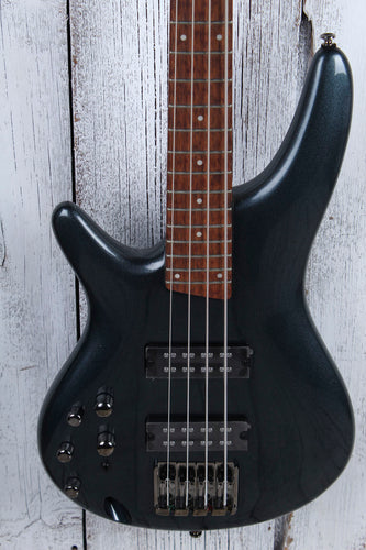 Ibanez SR300EL Left Handed Solid Body 4 String Electric Bass Guitar Iron Pewter