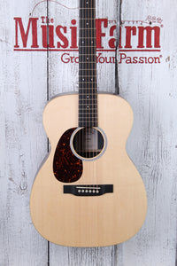 Martin 00X1AE 00-14 Fret Left Handed Acoustic Electric Guitar w Fishman Sonitone