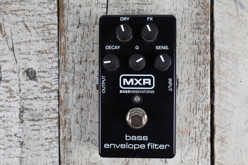 Used MXR Bass Envelope Filter Electric Bass Guitar Effects Pedal