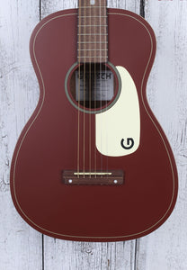 Gretsch G9500 Limited Edition Jim Dandy Flat Top Parlor Acoustic Guitar Oxblood