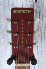 Load image into Gallery viewer, Gretsch G9500 Limited Edition Jim Dandy Flat Top Parlor Acoustic Guitar Oxblood