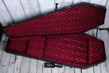 Load image into Gallery viewer, Coffin Extreme and Flying V Electric Guitar Hardshell Case Red Velvet Interior