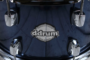 ddrum Dominion Series 7 x 13 Birch Snare Drum with Remo Heads Brushed Blue