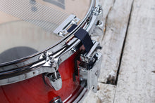 Load image into Gallery viewer, ddrum Dominion Series 7 x 13 Birch Snare Drum with Ash Veneer Red Burst Lacquer
