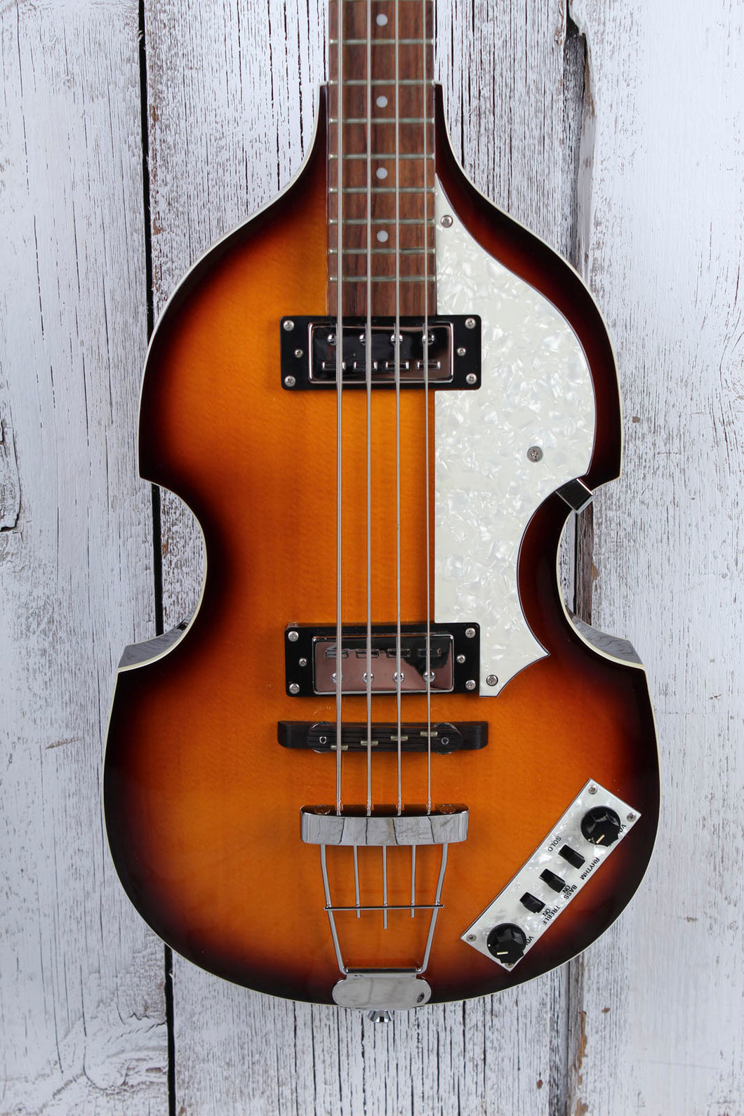 Hofner Icon Series B-Bass 4 String Violin Electric Bass Guitar w Hardshell Case