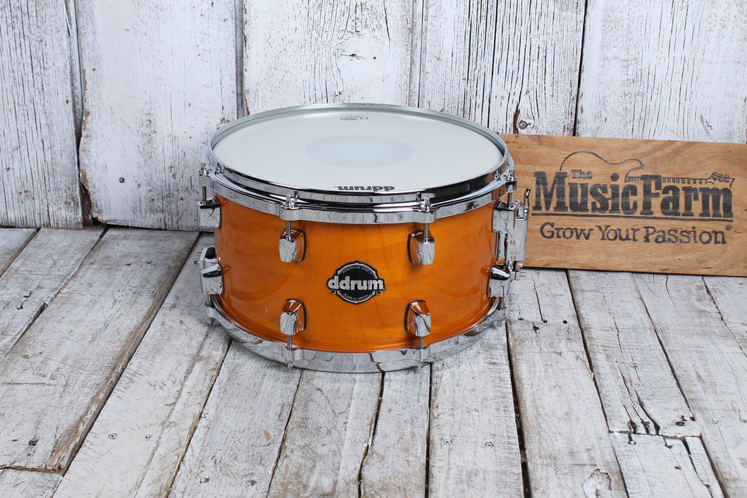 ddrum Dominion Series 7 x 13 Birch Snare Drum with Ash Veneer and Remo Heads