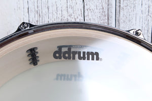 ddrum Dominion Series 5.5 x 14 Birch Snare Drum with Ash Veneer Gloss Natural