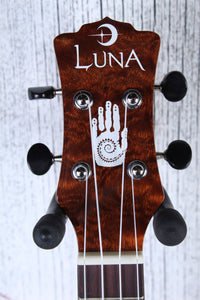 Luna 15th Anniversary Concert Acoustic Electric Ukulele UKE 15TH C with Case