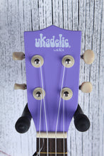 Load image into Gallery viewer, Kala Ukadelic Ultra Violet Soprano Ukulele Wood Uke UK-ULTRAVIOLET with Tote Bag