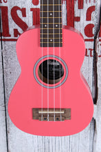 Load image into Gallery viewer, Kala Ukadelic Razzle Dazzle Soprano Ukulele All Wood Uke UK-RAZDAZ with Tote Bag
