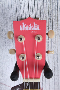 Kala Ukadelic Razzle Dazzle Soprano Ukulele All Wood Uke UK-RAZDAZ with Tote Bag