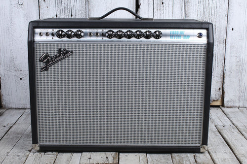 Fender '68 Custom Vibrolux Reverb Electric Guitar Amplifier w Footswitch & Cover
