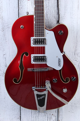 Gretsch G5420T Electromatic Hollow Body Electric Guitar w Bigsby Candy Apple Red
