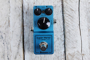 Ibanez SMMINI Super Metal Mini Pedal Electric Guitar Distortion Effects Pedal
