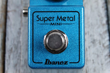Load image into Gallery viewer, Ibanez SMMINI Super Metal Mini Pedal Electric Guitar Distortion Effects Pedal