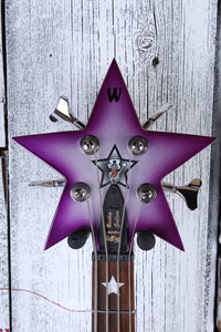 Warwick Bootsy Collins SpaceBass 4 String Electric Bass Guitar with Gig Bag