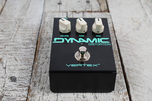 Used Vertex Dynamic Distortion Electric Guitar Effects Pedal