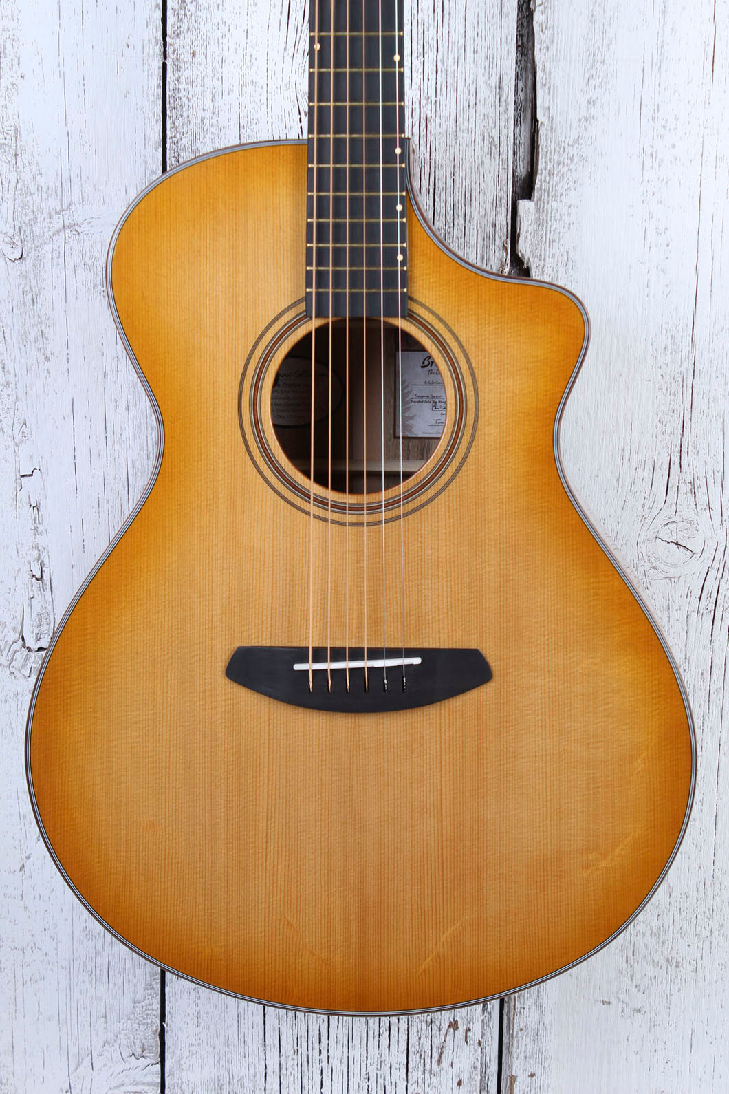 Breedlove Organic Artista Concert Natural Shadow CE Acoustic Electric Guitar