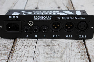 RockBoard RBO B MOD 3 V2 All in One Patchbay for Acoustic Guitar and Vocalists