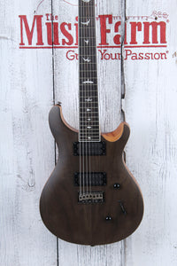 PRS SE Mark Holcomb SVN 7 String Electric Guitar Walnut Top Satin with Gig Bag