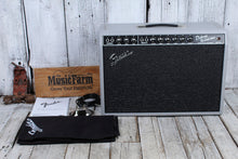 Load image into Gallery viewer, Fender LTD '65 Deluxe Reverb Slate Gray Redback Electric Guitar Combo Amplifier