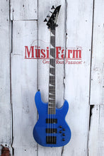 Load image into Gallery viewer, Jackson JS Series JS3 4 String Electric Concert Bass Guitar Metallic Blue Gloss
