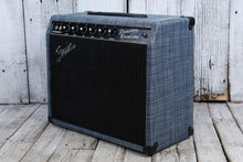 Load image into Gallery viewer, Fender Limited Princeton Reverb Chilewich Denim Electric Guitar Combo Amplifier