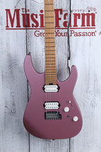 Load image into Gallery viewer, Charvel Pro Mod DK24 HH 2PT CM Electric Guitar Caramelized Maple Satin Burgundy