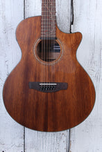 Load image into Gallery viewer, Ibanez AE2912 12 String Acoustic Electric Guitar Solid Top Natural Low Gloss