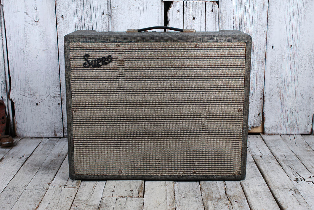 Supro Valco Vintage S6497T Electric Guitar Amplifier 35 Watt Combo Tube Amp