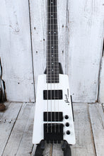 Load image into Gallery viewer, Steinberger Spirit XT-2 Standard 4 String Electric Bass Guitar White w Gig Bag