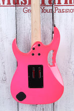 Load image into Gallery viewer, Ibanez Steve Vai Signature JEM JR Electric Guitar Quantum HSH Pink JEMJRSPPK