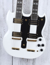 Load image into Gallery viewer, Epiphone Limited Edition G-1275 SG Double Neck Electric Guitar w Hardshell Case