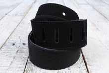 "Load image into Gallery viewer, Henry Heller 2"" Fashion Cotton Series Strap - Black"