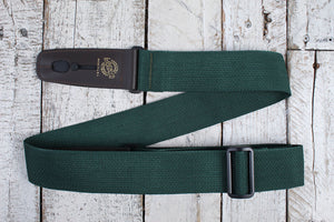 "Lock-It Straps 2"" Poly Pro Series Strap - Dark Green w/Brown"